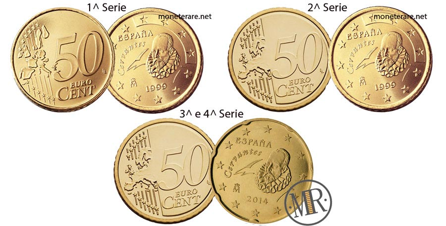 50 cent spanish euro coin