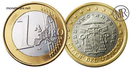 1 Euro Vatican 2005