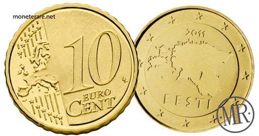 10 Centesimi Euro Estonia