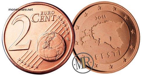 2 Centesimi Euro Estonia