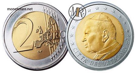 2 Euro Vatican Pope John Paul II 2002