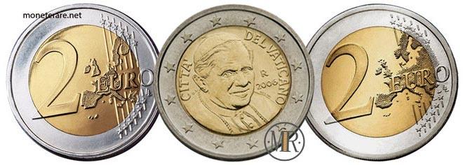 2 Euro Vatican Pope Benedict XVI 2006