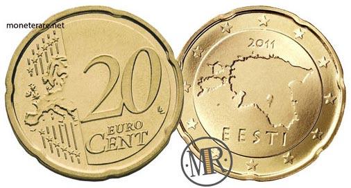 20 Centesimi Euro Estonia