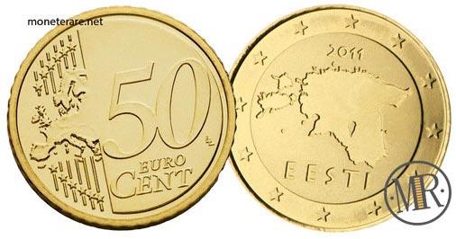 50 Centesimi Euro Estonia