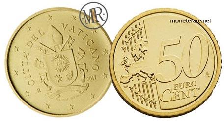 50 Cents Vatican Euro 2017