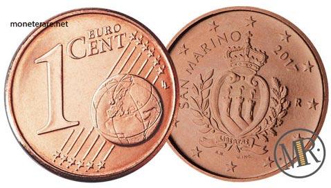 1 Centesimo Euro San Marino Seconda Serie