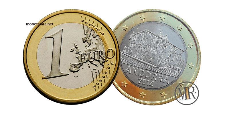 1 Euro Andorra Eurocollezione