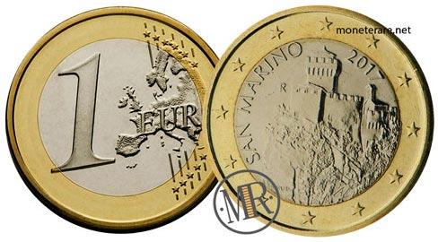 1 Euro della repubblica di San Marino Terza Serie