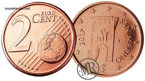 2 Centesimi Euro San Marino Seconda Serie