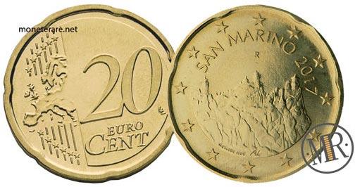 20 Centesimi Euro San Marino Terza Serie