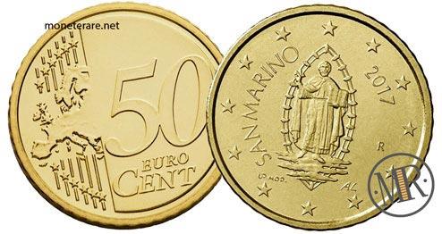 50 Centesimi Euro San Marino Terza Serie