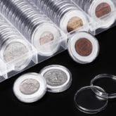 Raccoglitore di Monete Rigido (100 pezzi)