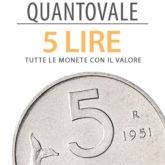"""QuantoVale"" 5 Lire"