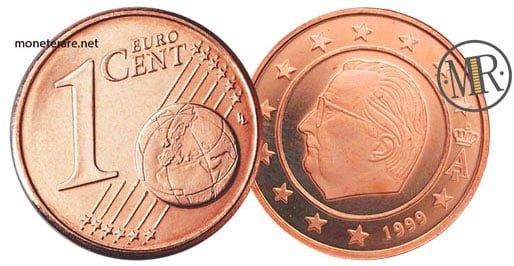 1 Centesimo Euro Belgio Prima Serie