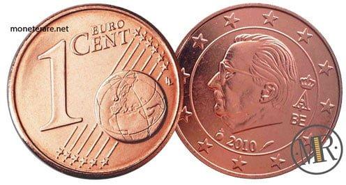 1 Centesimo Euro Belgio Terza Serie 2009 2013