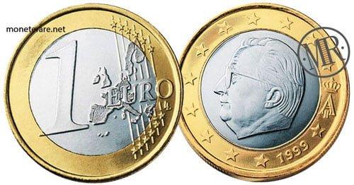 1 Euro Euro Belgio Prima Serie