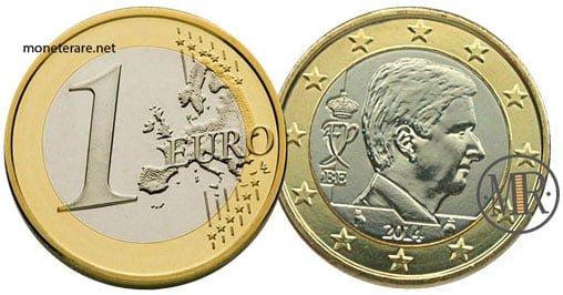 1 Euro Euro Belgio Quarta Serie