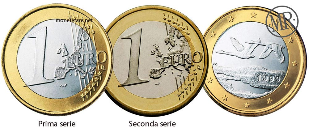 1 Euro Finnish Coin from finland