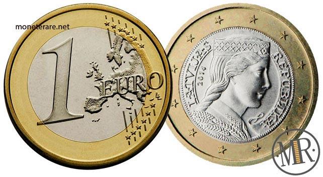 1 Euro Lettonia