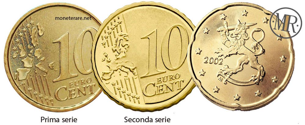 10 Cents Finnish Euro Coin from Finland