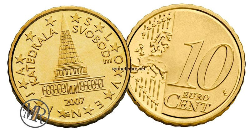 10 centesimi di euro slovenia