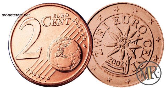 2 Centesimi Euro Austria