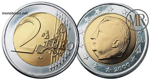 2 Euro Euro Belgio Prima Serie