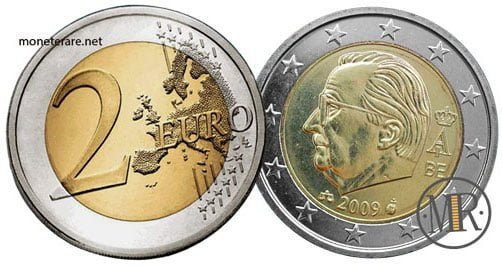 2 Euro Euro Belgio Terza Serie