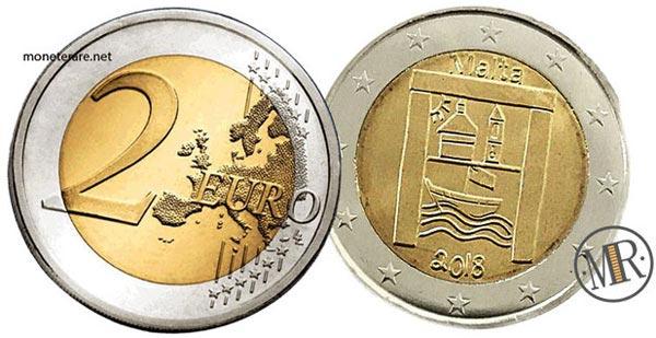 2 Euro Commemorative Malta 2018 Patrimonio culturale