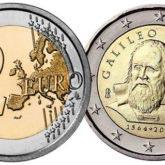 2 Euro Italia 2014 Galileo