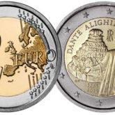 2 Euro Italia 2015 Dante