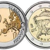 2 Euro Italia 2016 Donatello