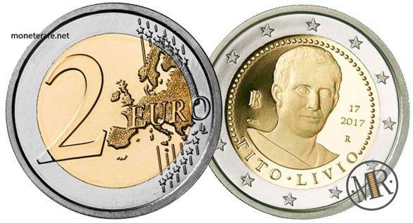 2 Euro Commemorativi Italiani 2017 Tito Livio
