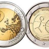 2 Euro Slovenia 2009 – 10° anniversario dell'Unione Economica e Monetaria