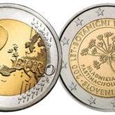 2 Euro Slovenia 2010 – 200° anniversario Orto Botanico Lupiana
