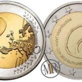 2 Euro Slovenia 2013 – 800° anniversario della scoperta delle Grotte di Postumia