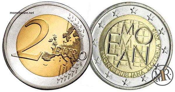 2 Euro Commemorativi Slovenia 2015 Fondazione di Emona
