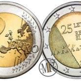 2 Euro Slovenia 2016 – 25° Anniversario dell'Indipendenza della Repubblica di Slovenia