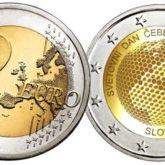 2 Euro Slovenia 2018 – Giornata mondiale delle api