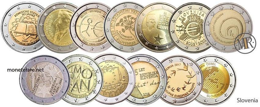 2 Euro Commemorativi Slovenia