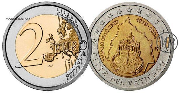 2 Euro Commemorativi Vaticano  2004