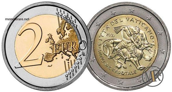 2 Euro Commemorativi Vaticano 2010
