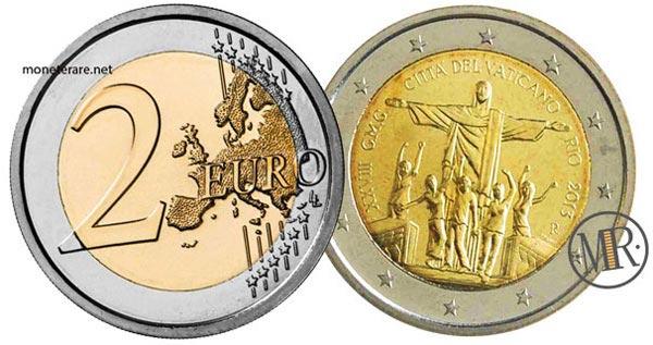 2 Euro Commemorativi Vaticano 2013