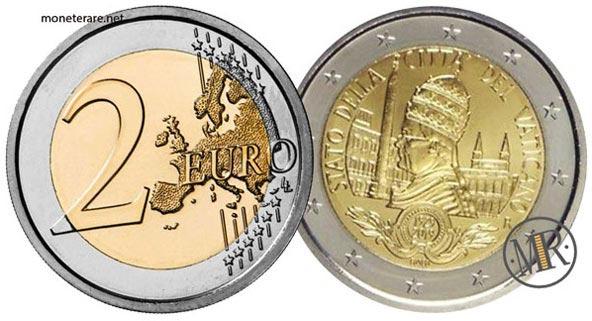 2 Euro Commemorativi Vaticano 2019