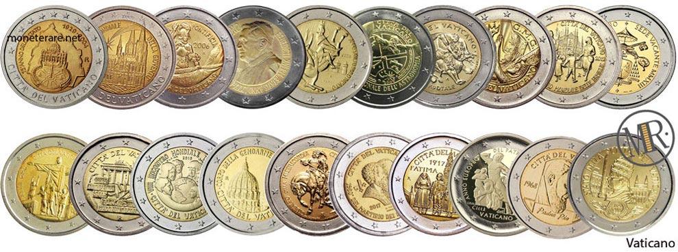 2 Euro Commemorativi Vaticano
