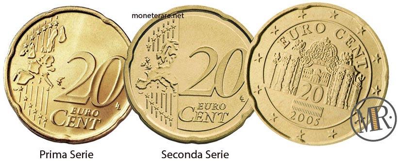 20 Centesimi Euro Austria