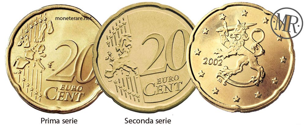 20 Cents Finnish Euro Coin