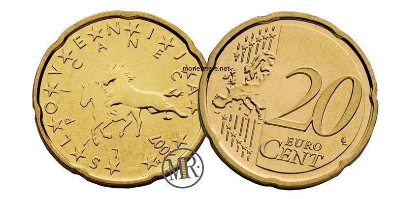 20 centesimi di euro slovenia