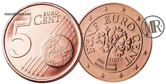 5 Centesimi Euro Austria