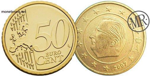 50 Centesimi Euro Belgio Seconda Serie